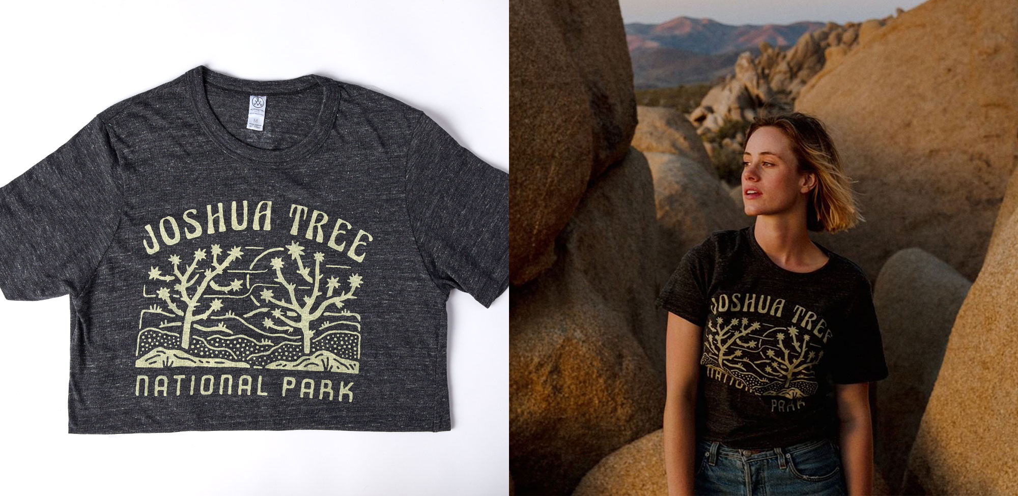 Alternative Apparel x National Parks Foundation Collection – Joshua Tree National Park