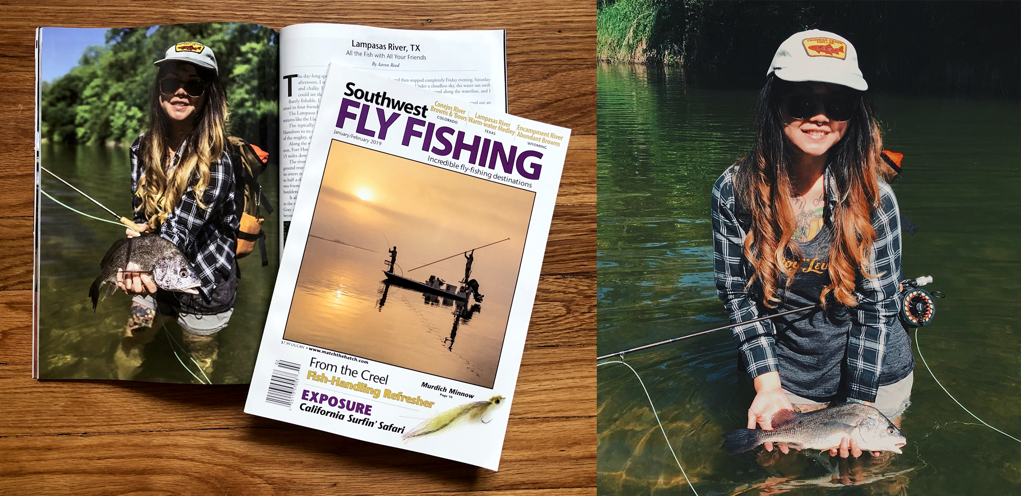 I am featured in the Jan/Feb 2019 issue of Southwest Fly Fishing Magazine. Article by Aaron Reed