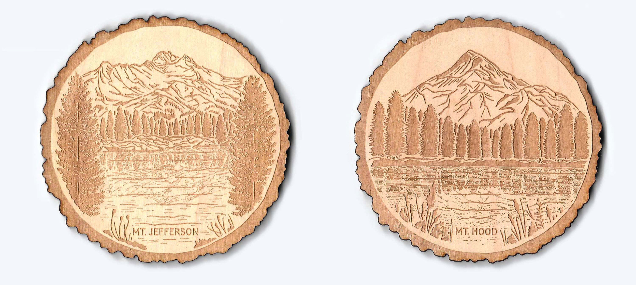 Pacific Northwest Coasters: Mt Jefferson and Mt Hood available  here