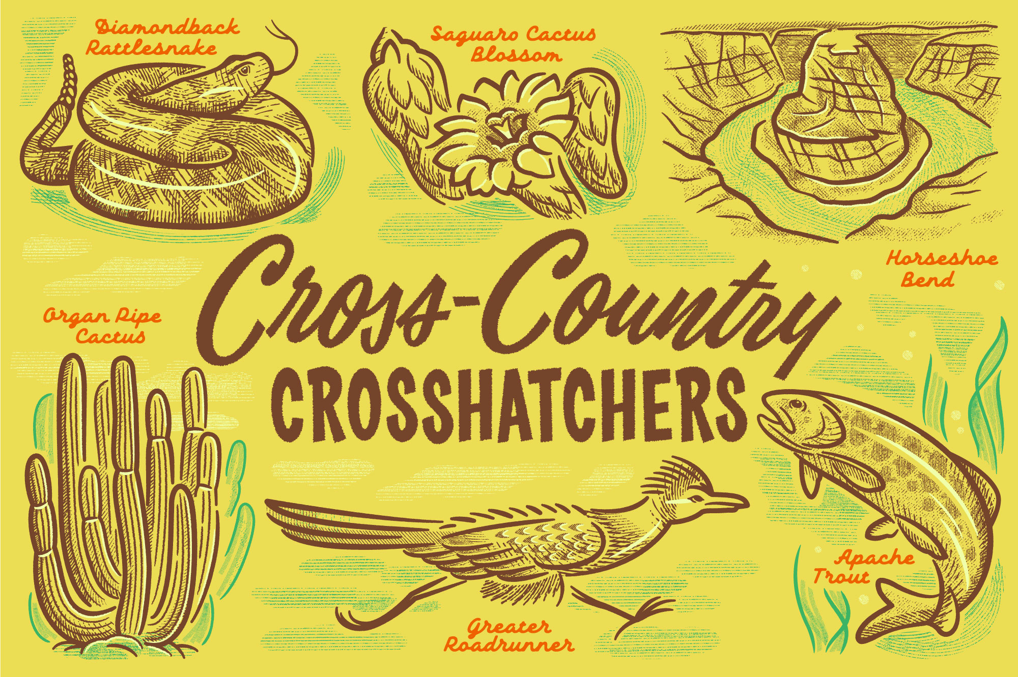 Retro Supply Cross-Country Crosshatchers Texture Pack available  here