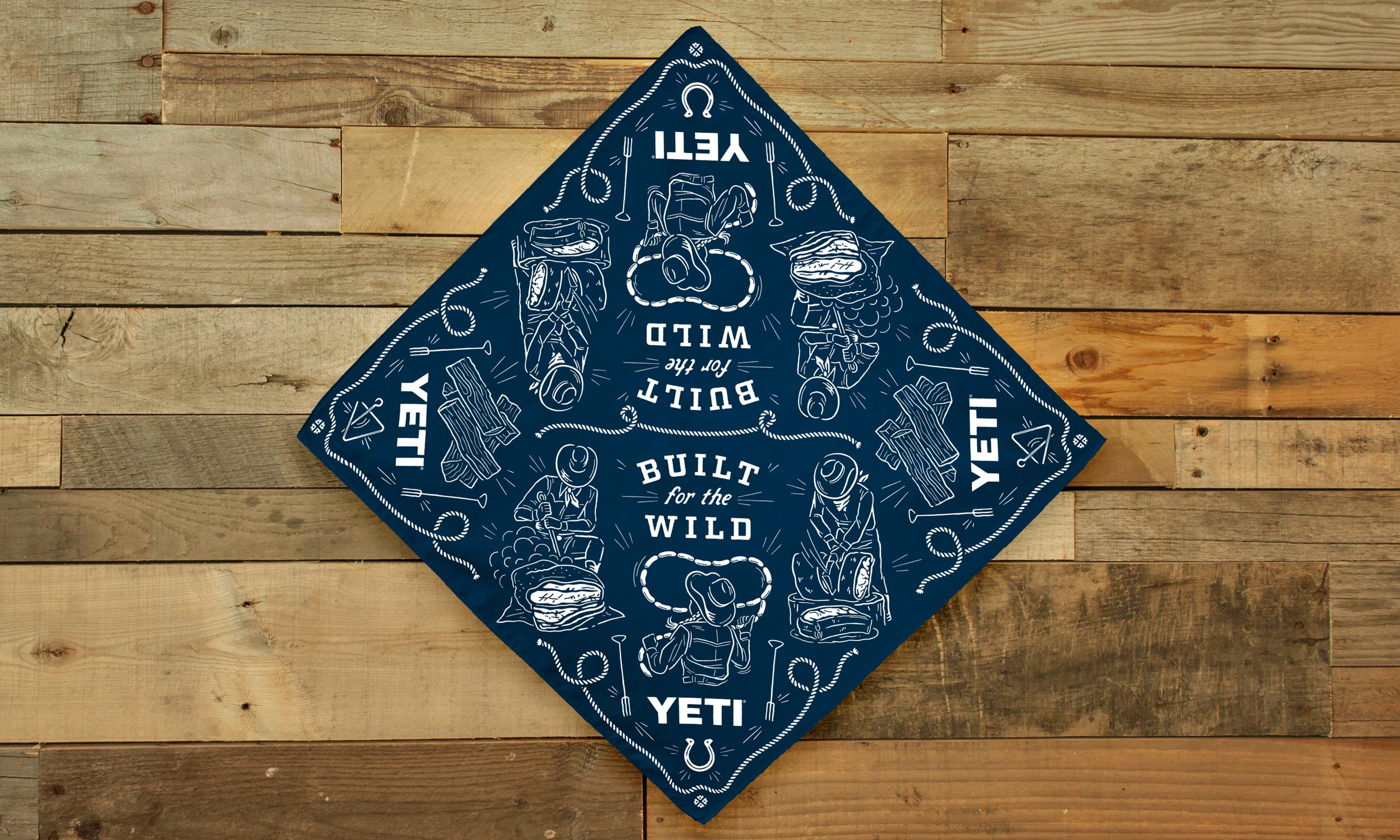 Limited Release Bandana Design for YETI