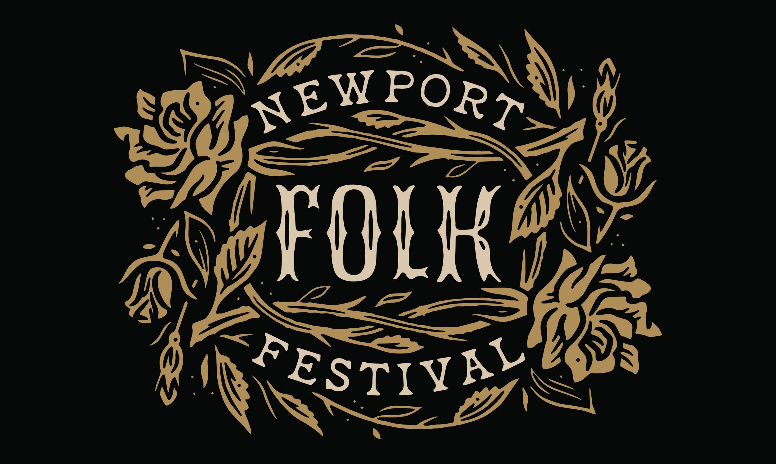Design for Newport Folk Festival Merchandise