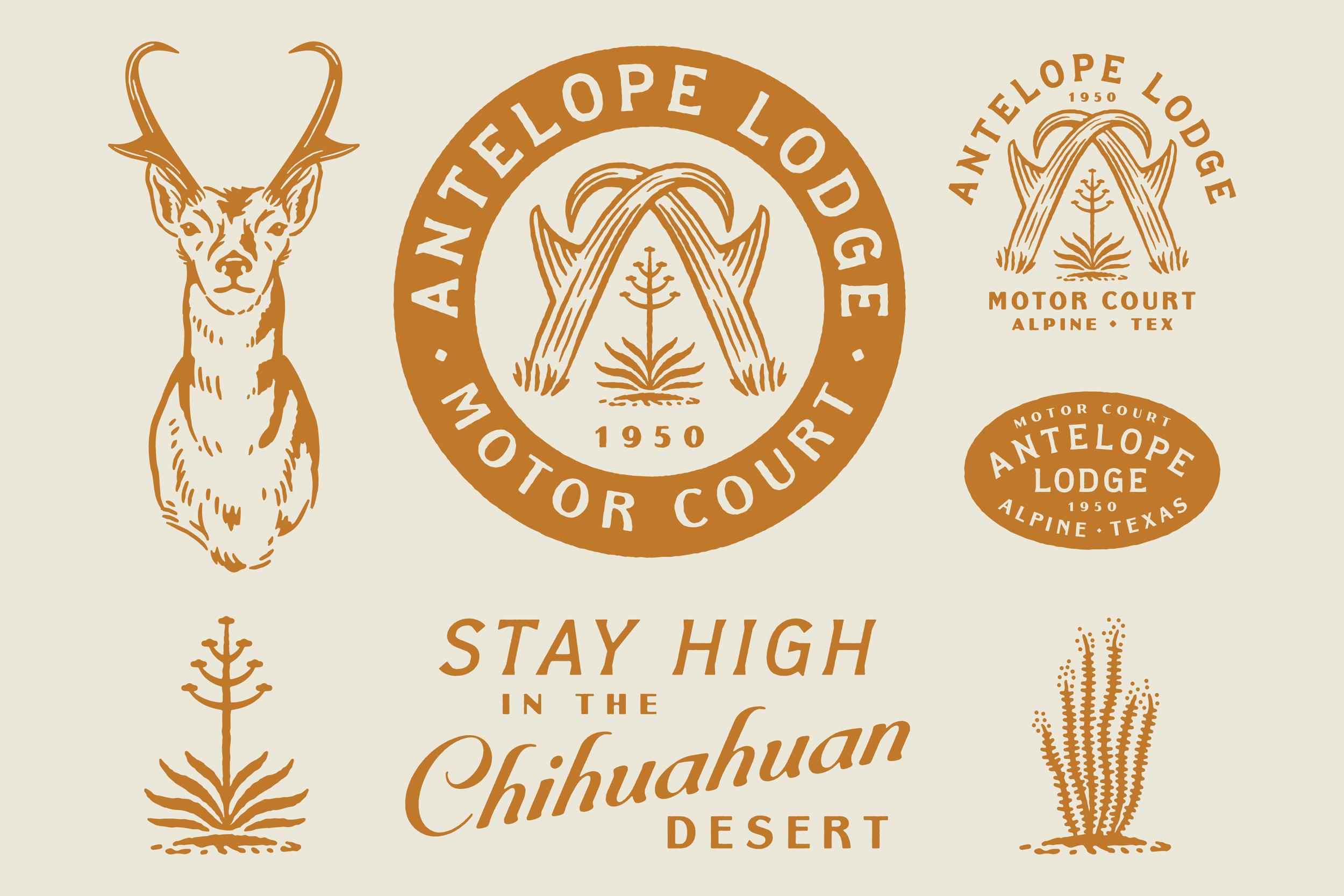 Antelope Lodge Branding Suite