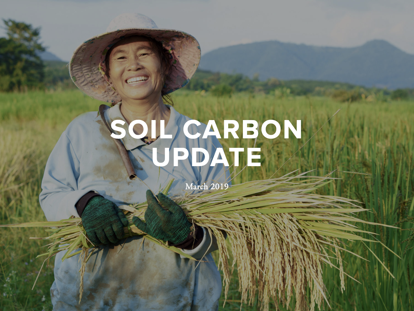 March 2019 Update - This update includes features on news and resources for and about farmers, reports, policy developments, conferences and events, supply chains, viticulture, media coverage and books.