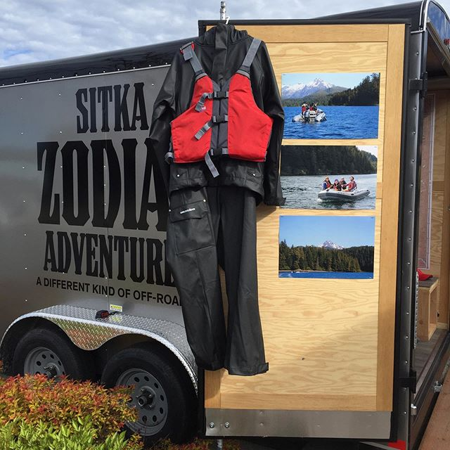 Come visit us at our outfitting trailer at Crescent Harbor! Andy and Amanda will be there to greet you. The 2019 season is off to a great start!  #sitkazodiac #exploresitka #sitka #sitkaalaska #southeastalaska #cruiseak #alaskacruise #cruisealaska #exploreak #travelalaska #optoutside #getoutside #getonthewater