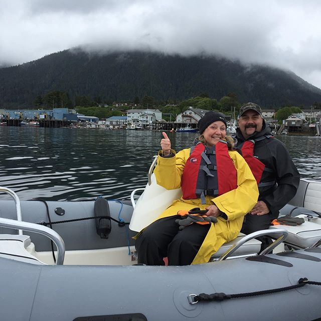 Even Alaskans like to explore Alaska! These fine folks from Palmer, AK spent their weekend in Sitka and we had the pleasure of taking them on tour.  #sitkazodiac #exploresitka #sitka #sitkaalaska #southeastalaska #cruiseak #alaskacruise #cruisealaska #exploreak #travelalaska #optoutside #getoutside #getonthewater #visitsitka #sitkaalaska #alaskacruise #cruisealaska #cruisetoalaska