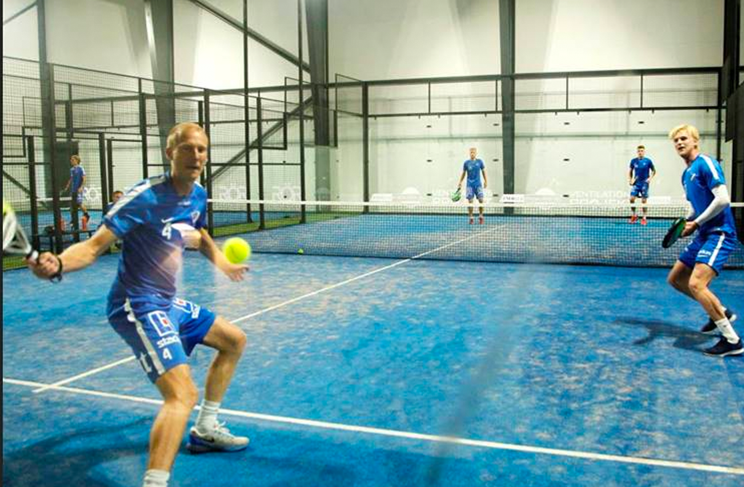 Paddel/Badminton every wednesday -