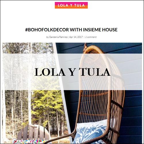 Insiem House - Press - Lola Y Tula