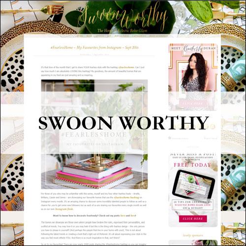 Insiem House - Press - Swoon Worthy