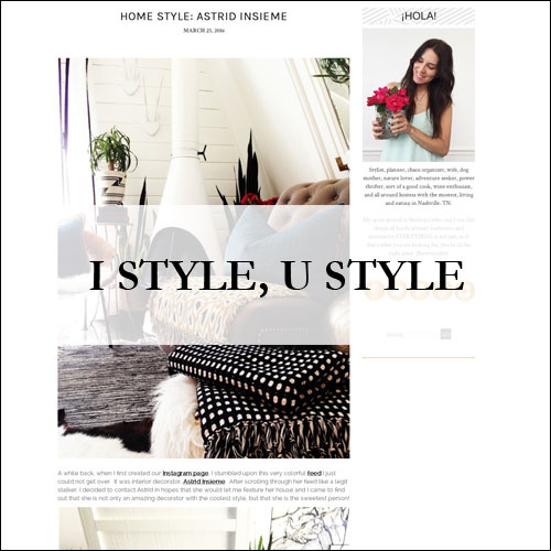 Insiem House - Press - I Style, U Style