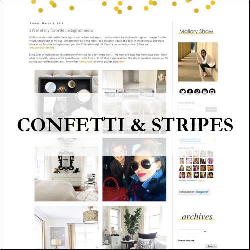 Insiem House - Press - Confetti & Stripes