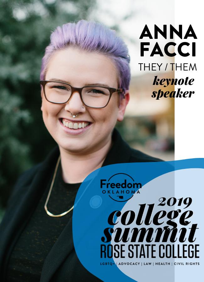 Freedom Oklahoma College Summit - AC Facci, Keynote Speaker