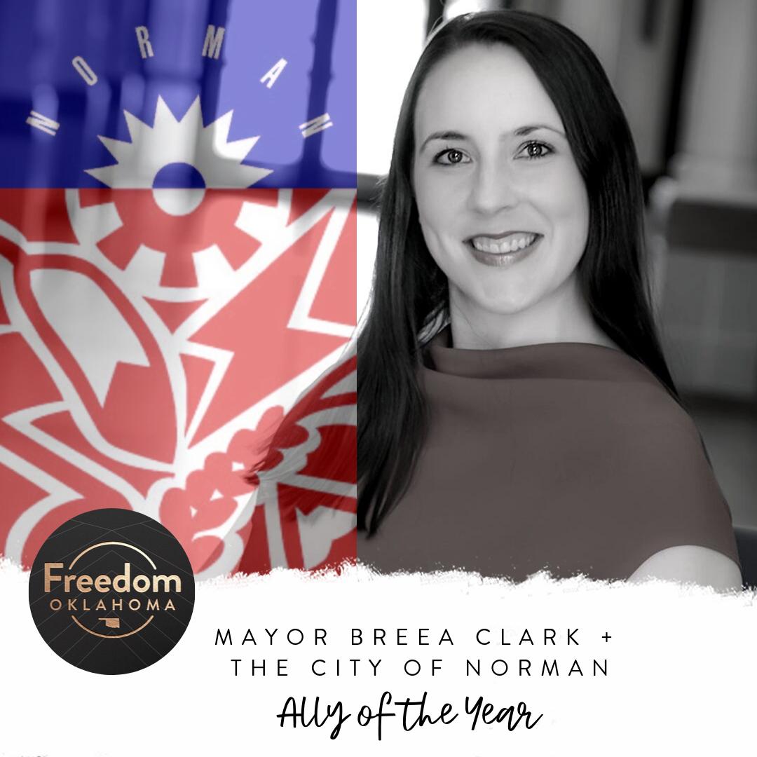 Mayor Breea Clark + The City of Norman: Ally of the Year Award
