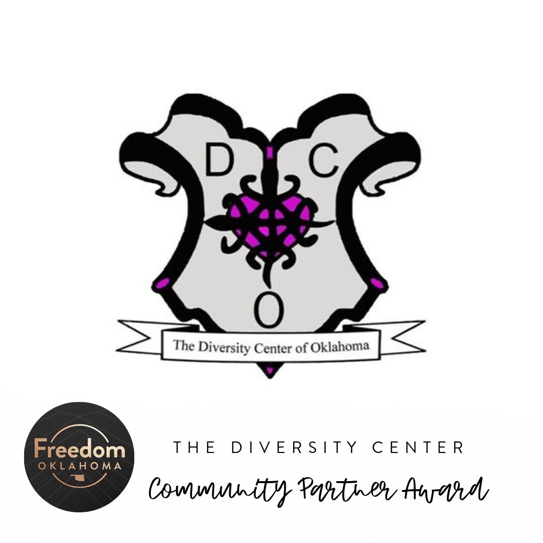 The Diversity Center of Oklahoma: Community Partner Award