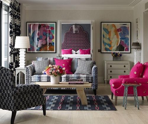 The Terrace Suite at Ham Yard, gorgeous isn't it?