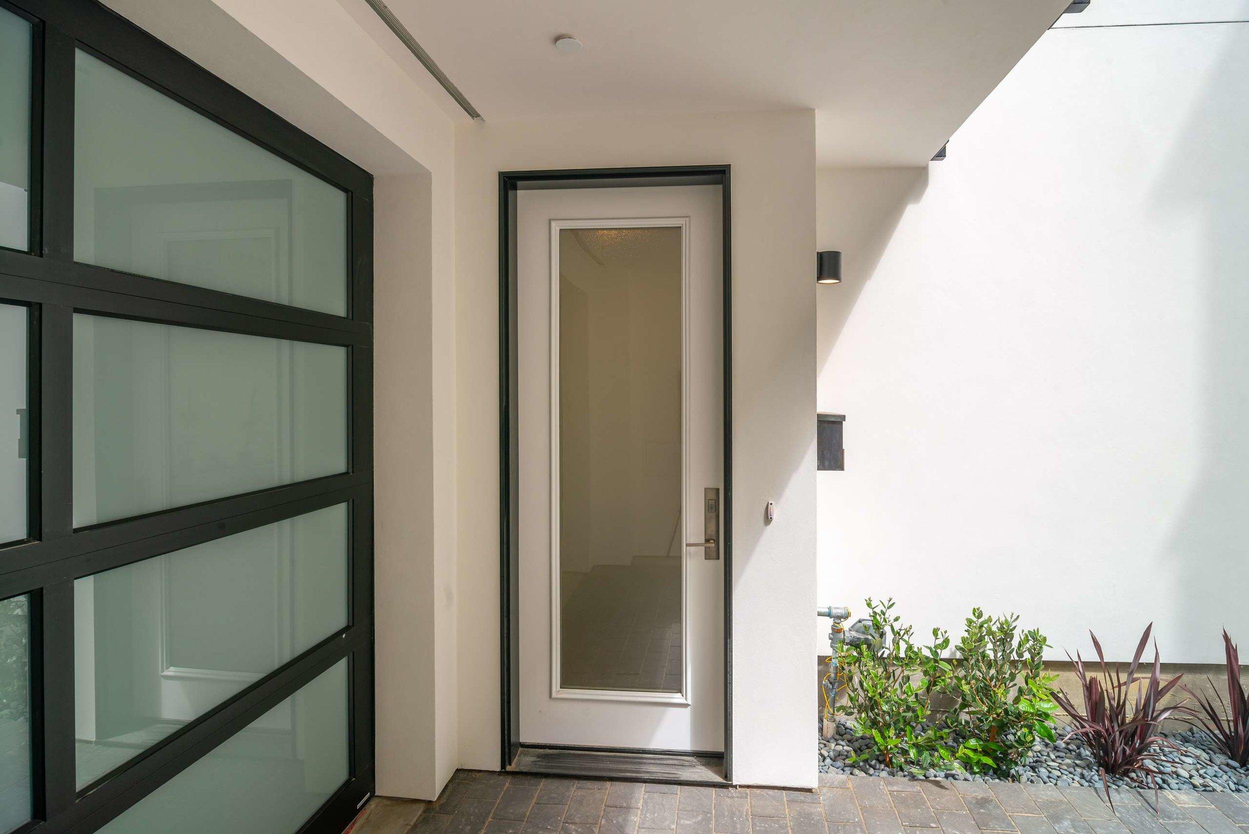 entry + garage