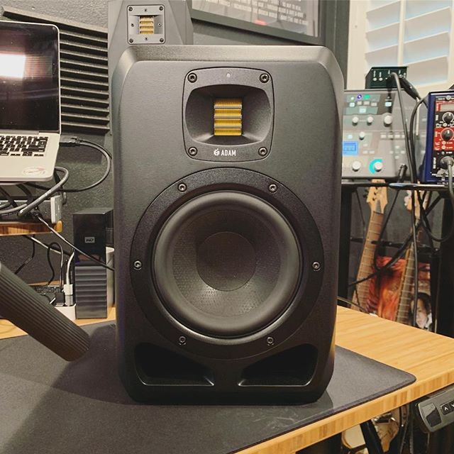 """The great @matthewkheafy unboxed his brand new ADAM Audio S2V studio monitors!  """"Danke to @adam_audiofor the new studio monitors! I was a longtime user of the #a3x and now I'm happy to be giving the #s2v #adamaudiospeakers a spin! So stoked. (A3X can be seen sadly peeking over his new big brother S2V)"""" . . . #adamaudio #studiogear #proaudio #soundengineering #recording #recordingstudio #mixing #musicproduction #Audio #Music #Sound #AudioEngineering #AudioEngineer #Studio #Tech #bass #technology #inthestudio #studiotime #homerecording #studioporn #adams2v #s2v #adama3x #a3x #matthewkheafy"""