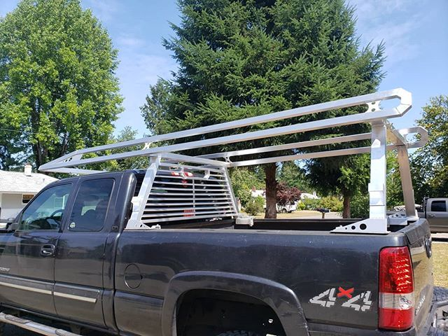 Just got done with this Aluminum Lumber rack. Turned out really nice and could out haul every other rack I've seen.  Didn't have a chance to get any pics of welds on this one.  #elite #welding #entrepreneur #smallbusiness #ilovemakingstuff  #makers