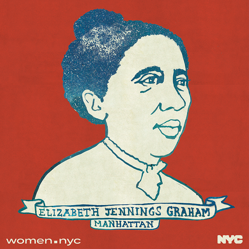 Courtesy of She Built NYC  A monument for Elizabeth Jennings Graham, a 19th century anti-segregationist, will be erected next to Grand Central Station.