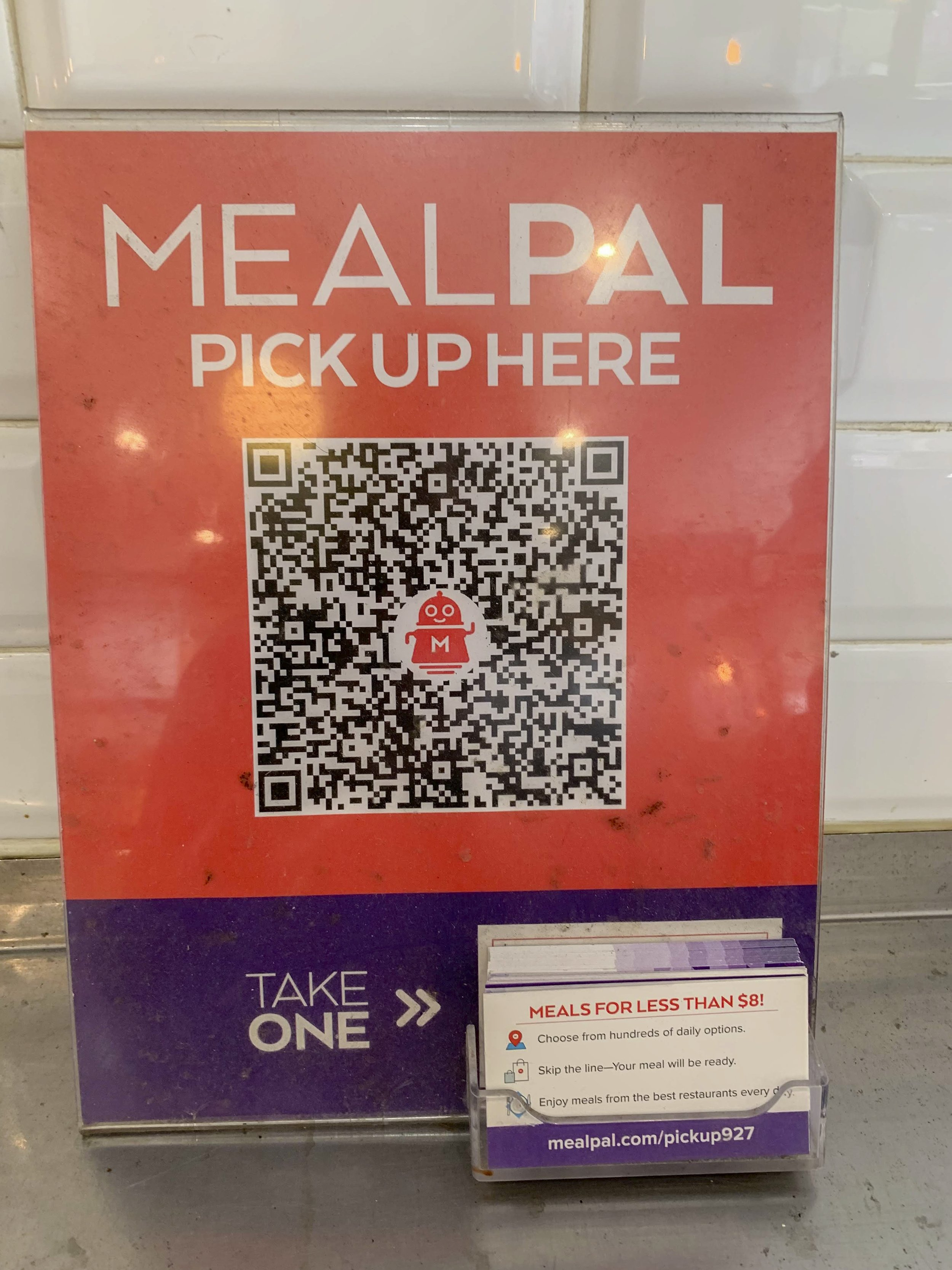 Ayse Kelce | The Ticker  The MealPal app connects its users with many restaurants in New York City that offer cheap lunch and dinner plans, giving students several options.