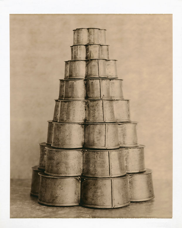 "BAKING PANS, 1999   8"" X 10"" POLAROID"