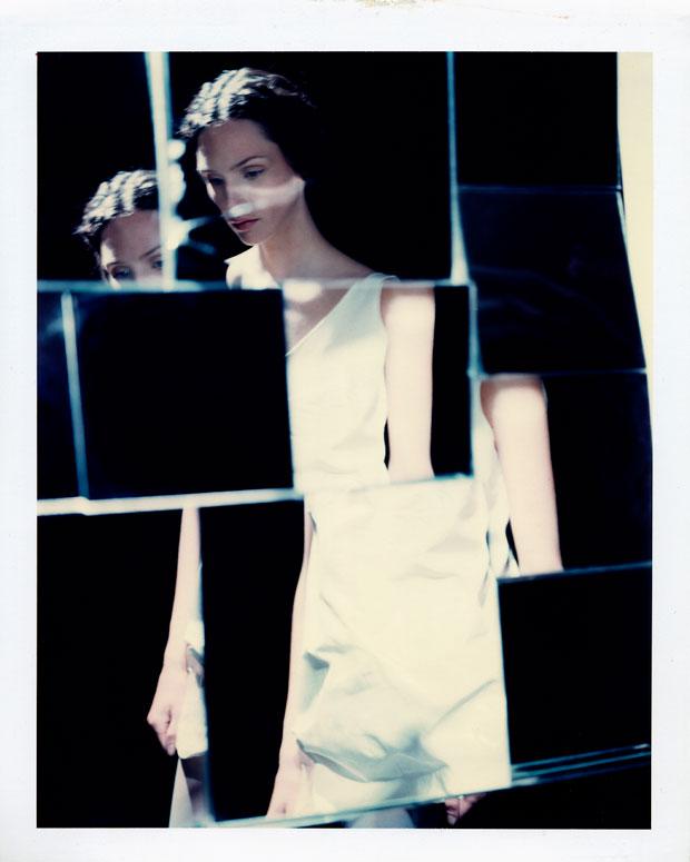 "BROKEN WOMAN, 1998 8"" X 10"" POLAROID"
