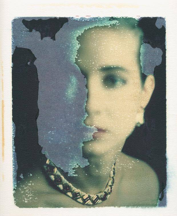 "DOMINO MAGAZINE, 1988 8"" X 10"" POLAROID TRANSFER"