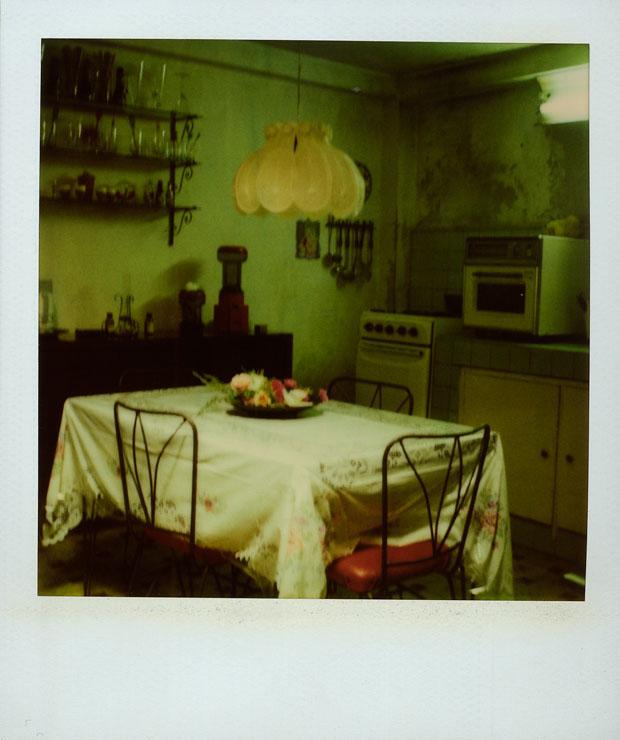 EDDIE'S KITCHEN, 1994  600 POLAROID