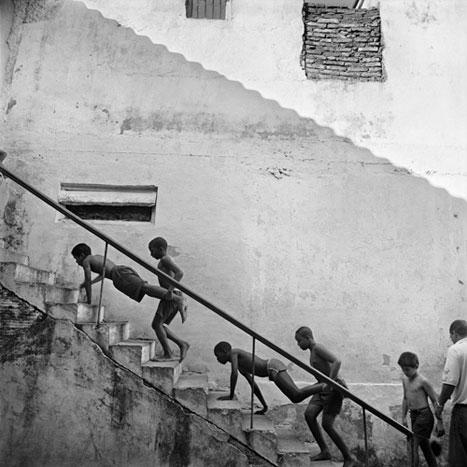 ASCENDING, CUBA, 2001  SILVER GELATIN