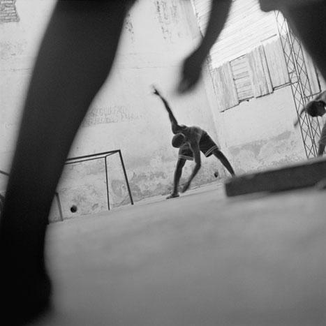 FREE EXERCISE, CUBA, 2000   SILVER GELATIN