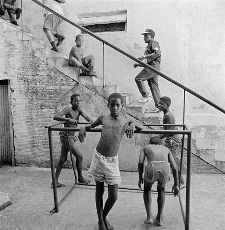 IN MOTION, CUBA, 2000  SILVER GELATIN
