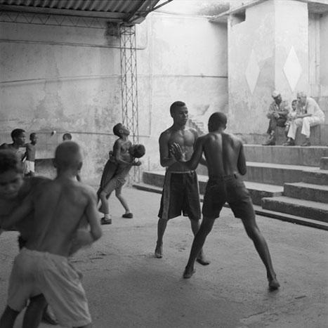 TRAINING, CUBA, 2000  SILVER GELATIN