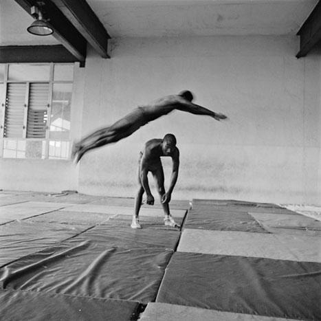 JUMP OF THE TIGER, CUBA, 2001  SILVER GELATIN