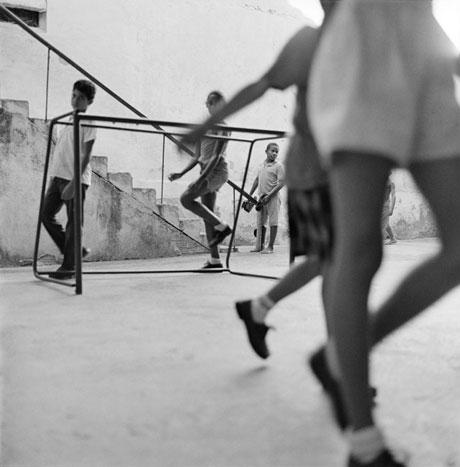 HOP SCOTCH, CUBA, 1999  SILVER GELATIN