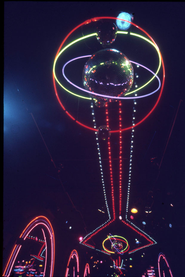 LIGHTS ON DANCE FLOOR INFINITY 1976 DYE - SUBLIMATION PRINT