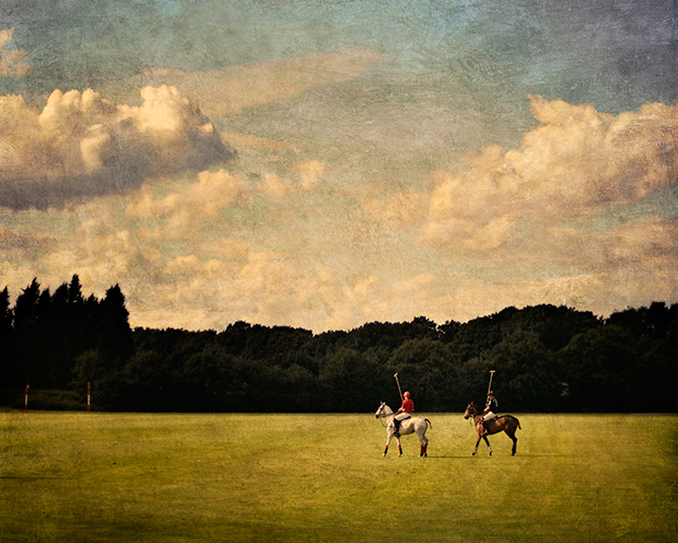 PETE KELLY POLO FIELD, CHESHIRE, UK, 2008  VARNISHED, WAX ON WOOD