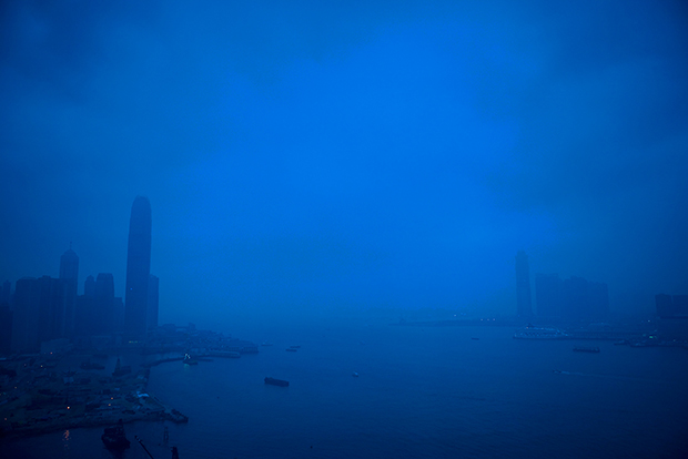 MICHEAL MCLAUGHLIN VICTORIA HARBOR, HONG KONG 2008 ARCHIVAL PIGMENT INKJET PRINT