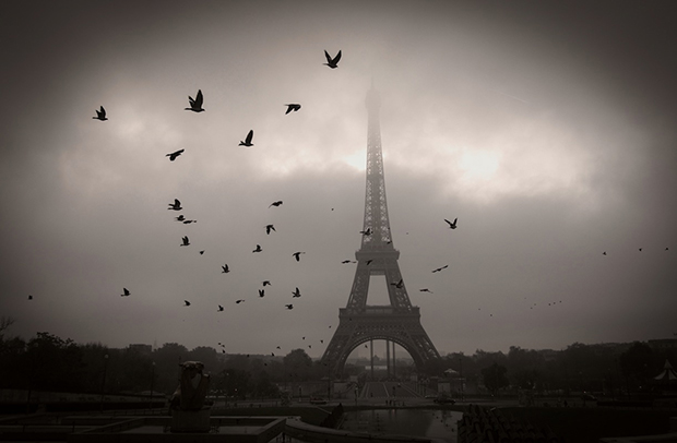 "MARK SINK, ""PARIS DAWN"", 2013   ARCHIVAL PIGMENT PRINT"
