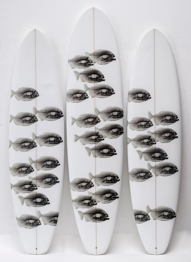 "STEVE MILLER, ""SURFBOARDS"", 2013"