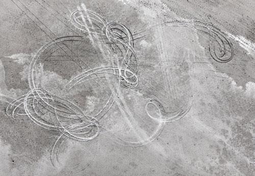 HUMAN TRACE, 2009  PIGMENT PRINT