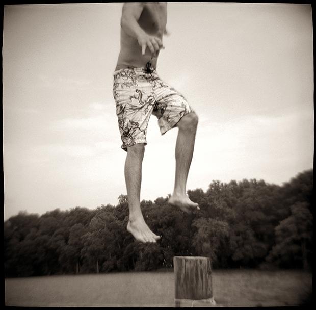 LUKE, FLYING POINT, VA, 2009 SILVER GELATIN PRINT