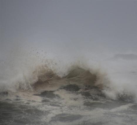 """HAIK KOCHARIAN, """"SUFFOCATION, HURRICANE EARL IN MONTAUK"""" 2011 ARCHIVAL INKJET"""