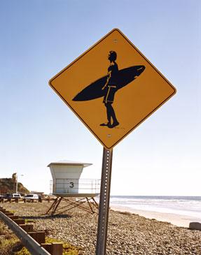 SURFERS ONLY, 2009   LYNDA CHURILLA