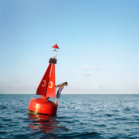 THE CHANNEL MARKER, 2004  C-PRINT