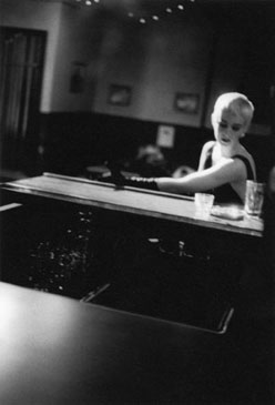 DRUNKEN WALL FLOWER, 1994   SELENIUM TONED/SILVER GELATIN