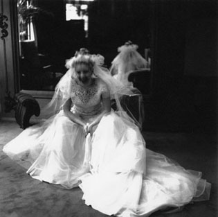BRIDE, 1994   SELENIUM TONED/SILVER GELATIN
