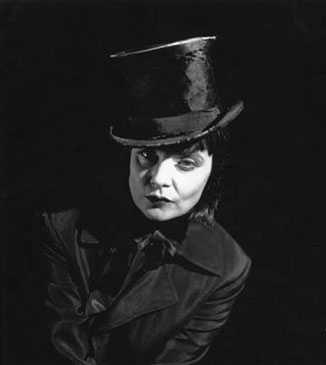 MISS ZIGFRIED, 1996   SELENIUM TONED/SILVER GELATIN
