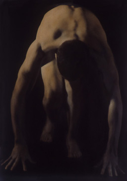 PENNY MAILANDER, RON #1, 1995   OIL PAINTED/SILVER GELATIN