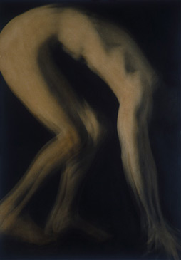 PENNY MAILANDER, RON #2, 1995   OIL PAINTED/SILVER GELATIN