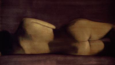 PENNY MAILANDER, BRIDGET #2, 1996   OIL PAINTED/SILVER GELATIN